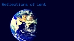 Copy of Reflections of Lent-2