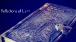 Reflections of Lent-6