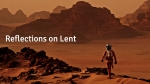 Reflections on Lent